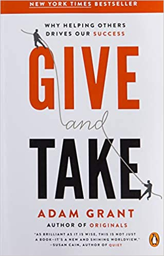 Give and Take: Why Helping Others Drives Our Success Paperback